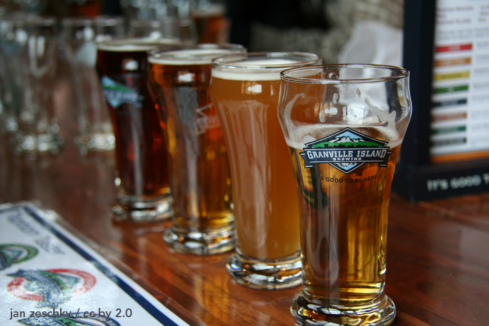 Granville Island Brewing Taproom, Vancouver