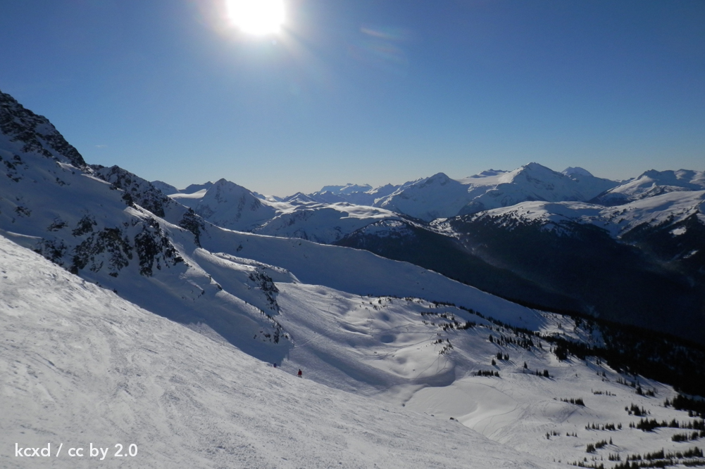 Whistler/Blackcomb, North America's largest ski resort