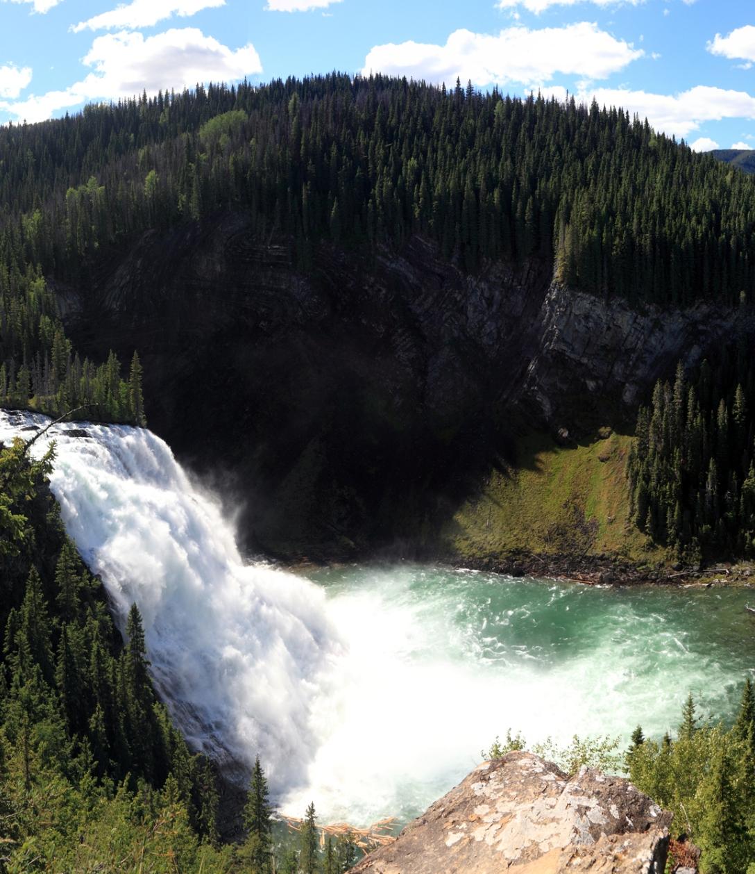 bc canada waterfall
